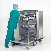Mobile instrument cabinets